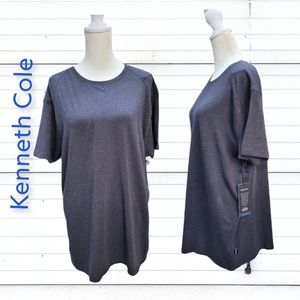 Kenneth Cole slim fit lightweight knit tee